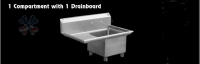 G12 VEGETABLE SINK/FAUCET